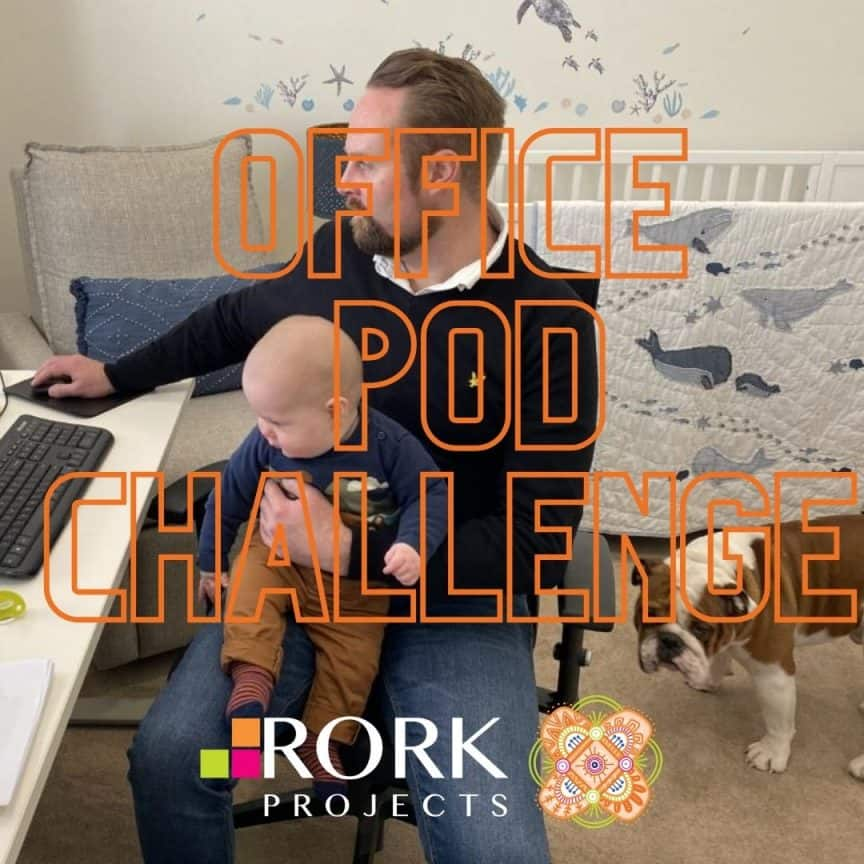 Rork Projects Melbourne General Manager with son